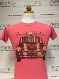 Μεταξοτυπία σε t-shirt, Mini Cooper